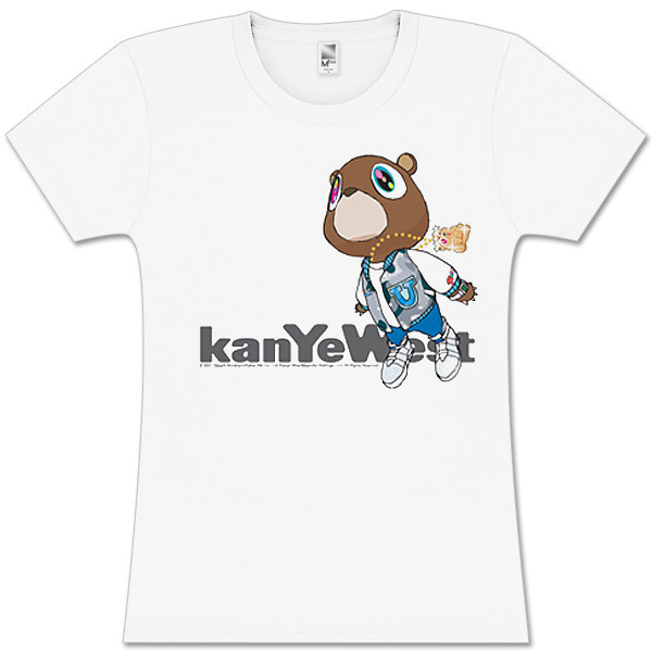 Kanye West  Flying Bear Juniors Tee