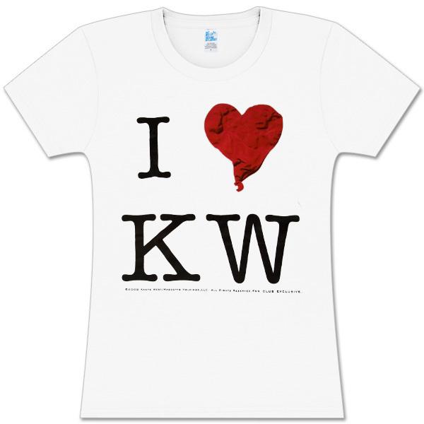 """Kanye West  """"I Heart KW"""" Babydoll"""