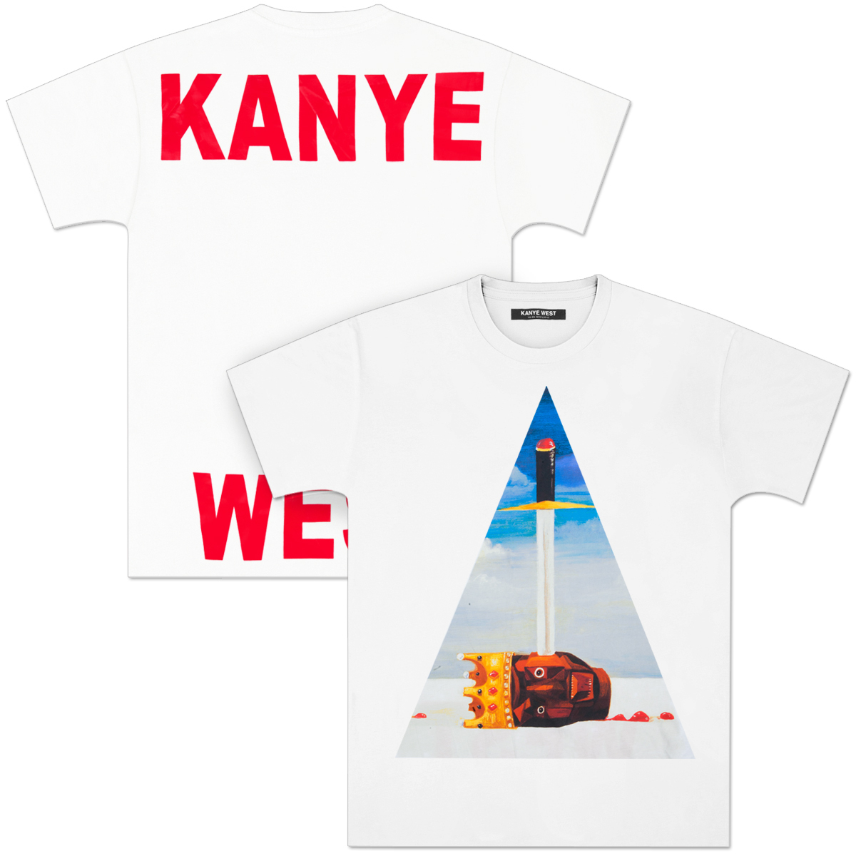 Kanye West Power Triangle T-Shirt
