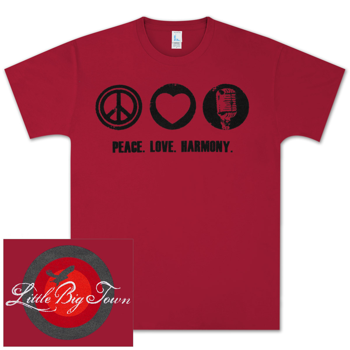 LBT Peace Love Harmony T-Shirt