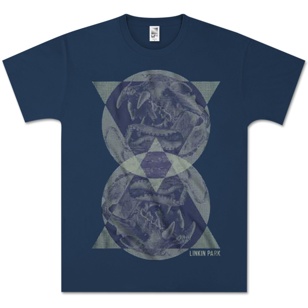 Linkin Park Circle Triangle T-Shirt