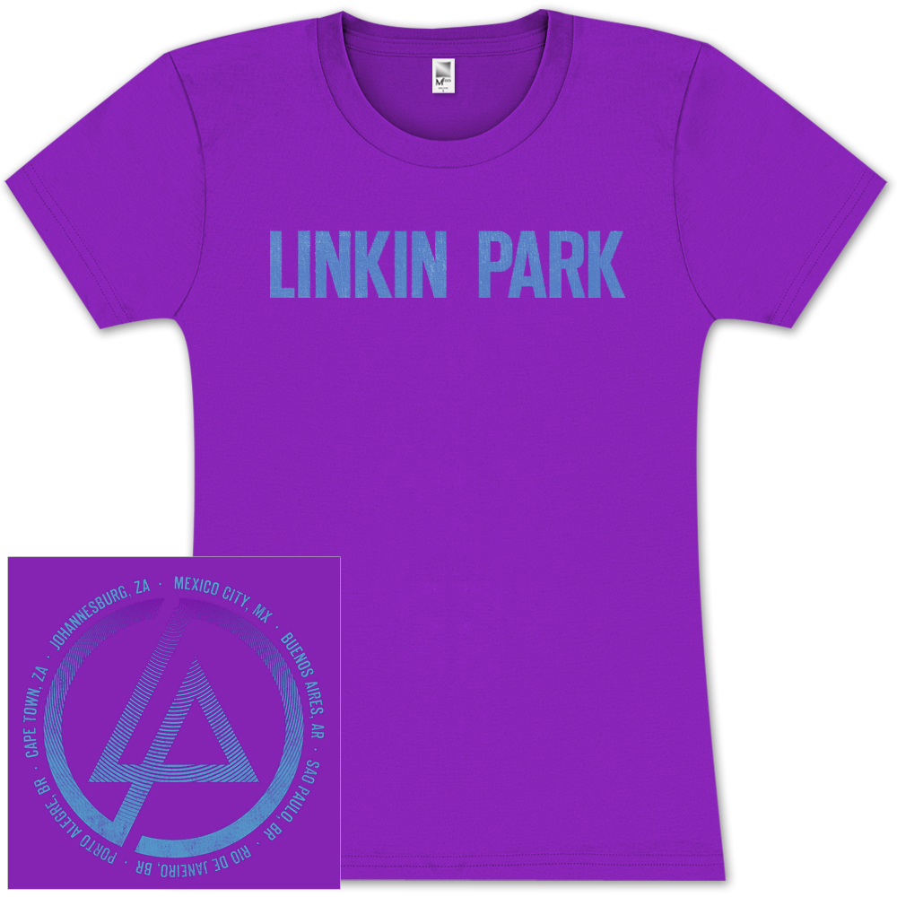 Linkin Park Circle Scan Girlie T-Shirt