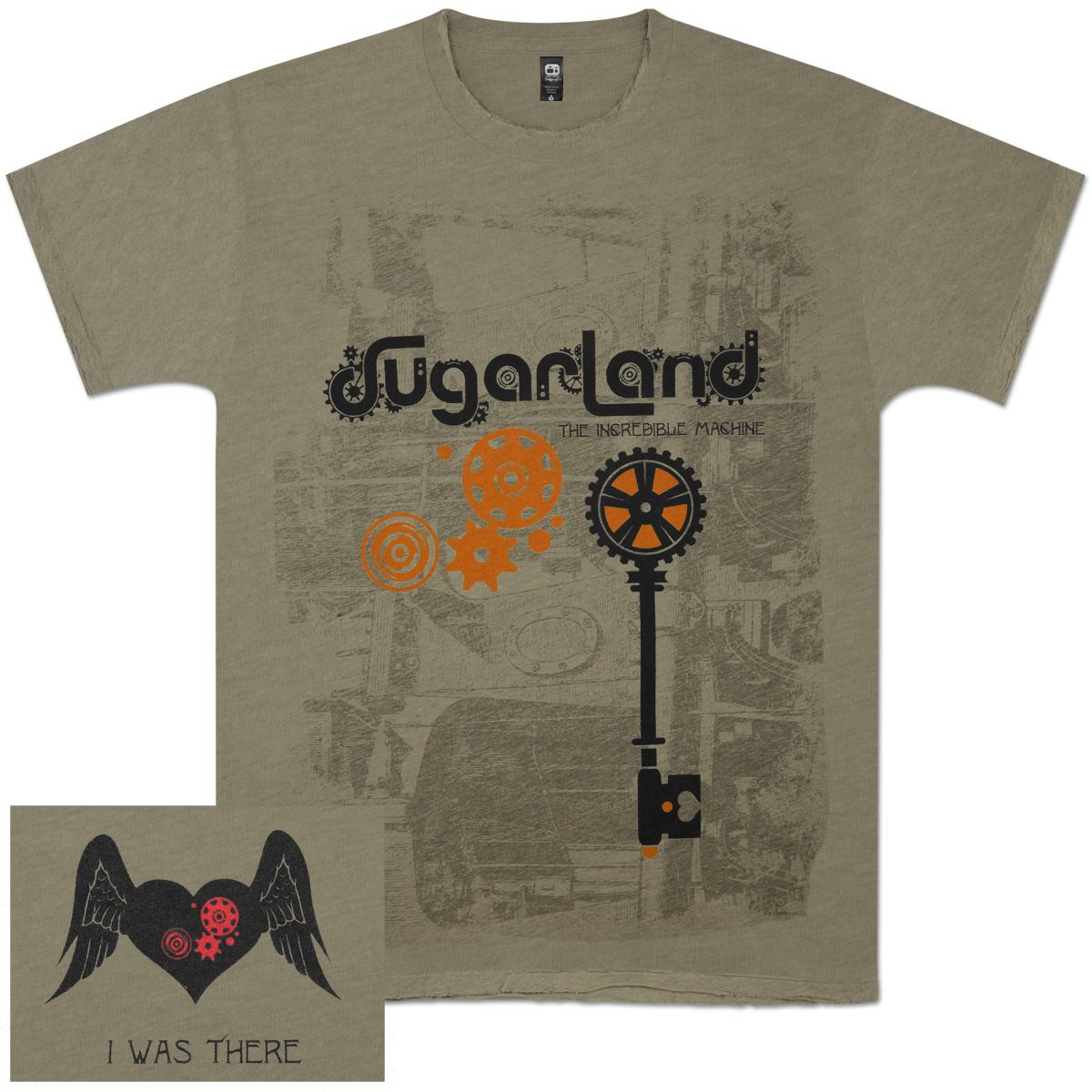 Sugarland Incredible Machine T-Shirt