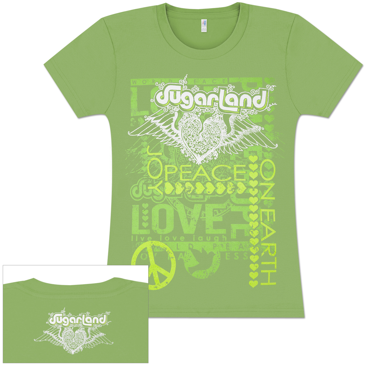 Sugarland One Earth Ladies T-Shirt