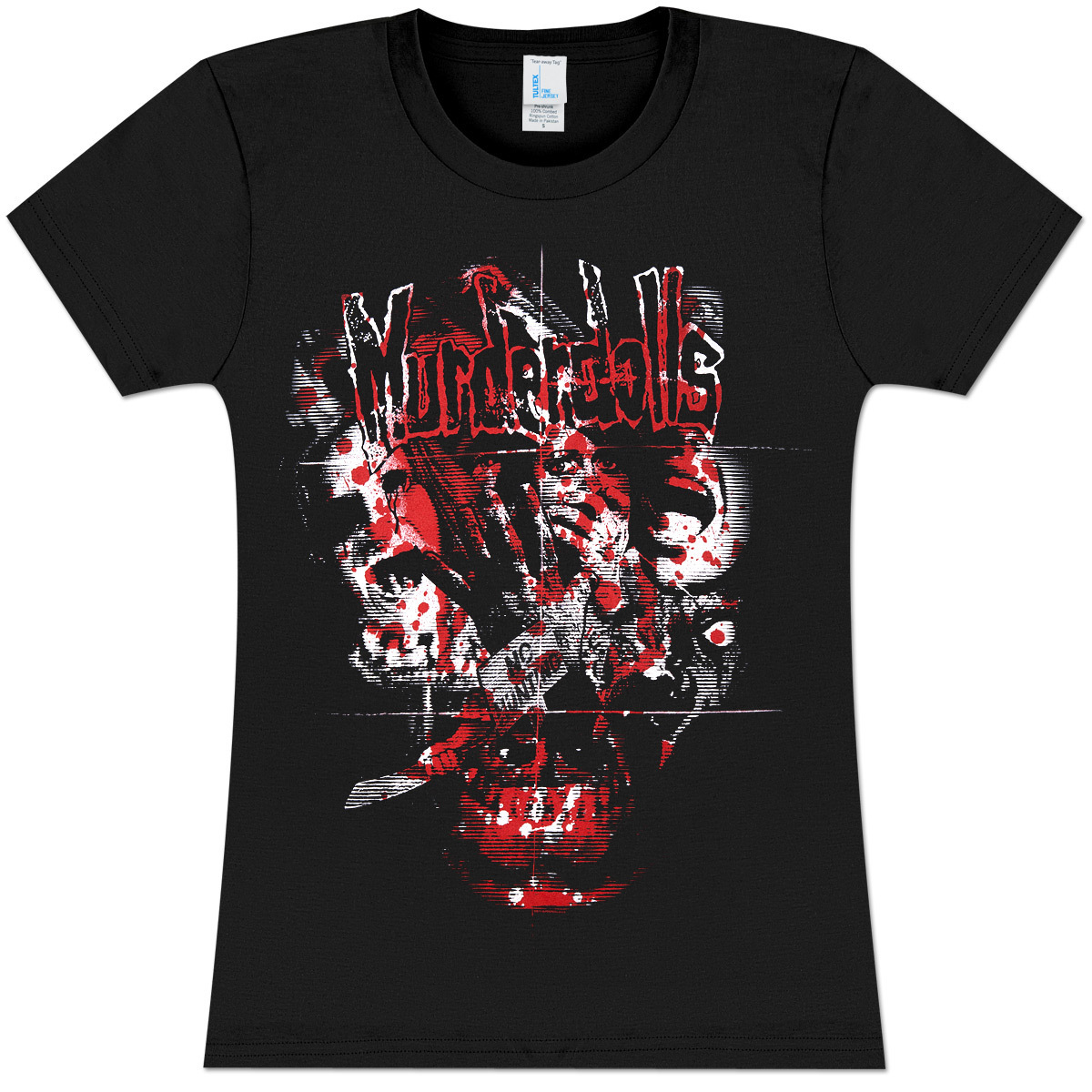 Murderdolls Slasher Girls' Fitted T-Shirt