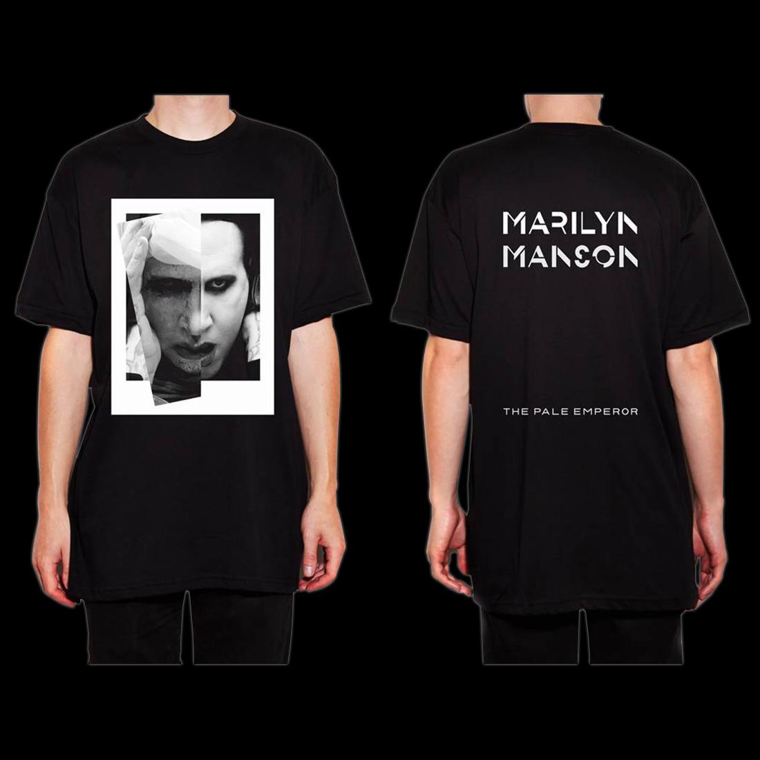 marilyn manson the pale emperor t shirt shop the bravado. Black Bedroom Furniture Sets. Home Design Ideas