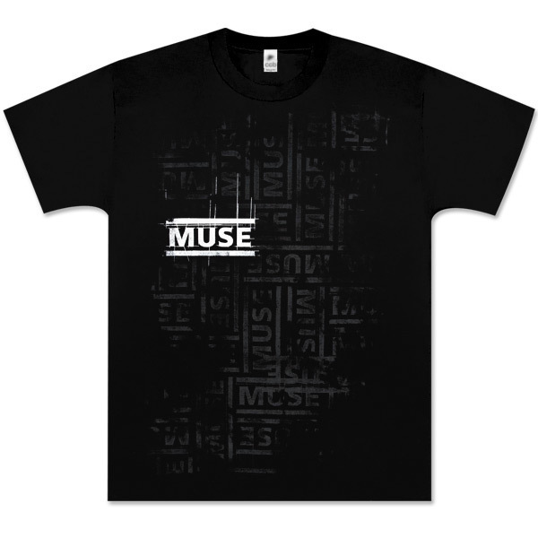 Muse Repeating Logo T-Shirt