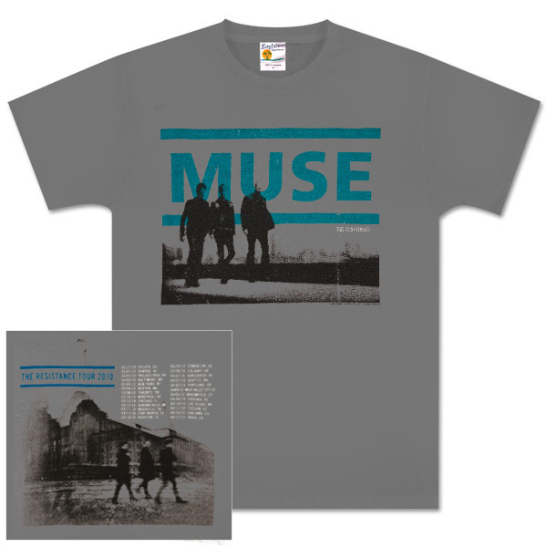 Muse Guided  Walk Dateback Grey T-Shirt