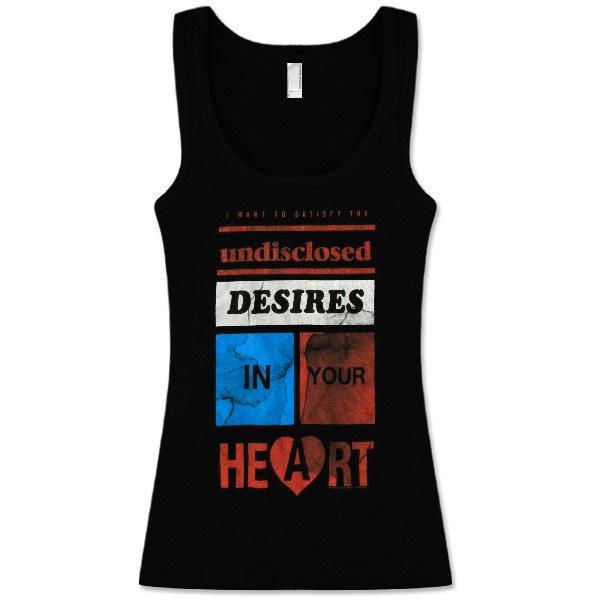 Muse Desires Black Tank