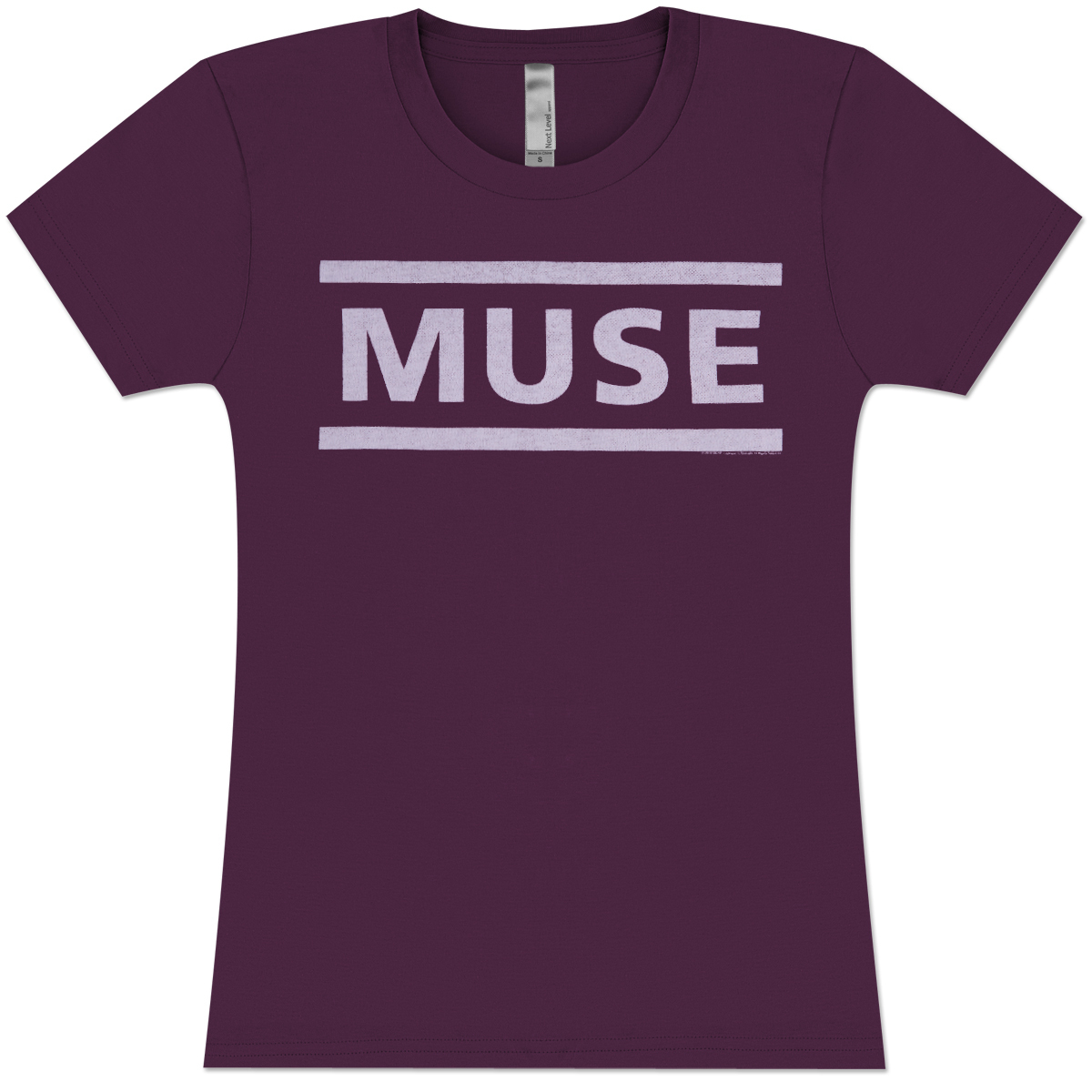 Muse Logo Type Girls' Fitted T-Shirt