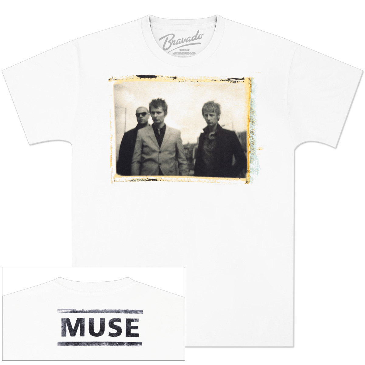 muse negative texture t shirt musictoday superstore. Black Bedroom Furniture Sets. Home Design Ideas