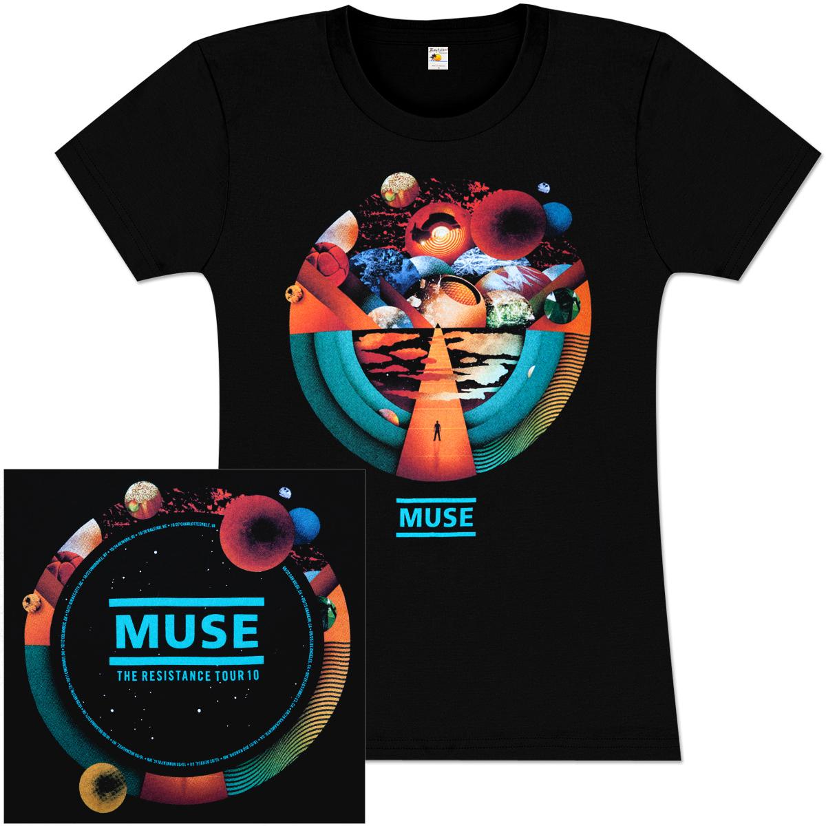 Muse Exogenesis Tour Babydoll  T-shirt