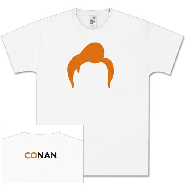 Conan O'Brien Tour White Hair T-Shirt