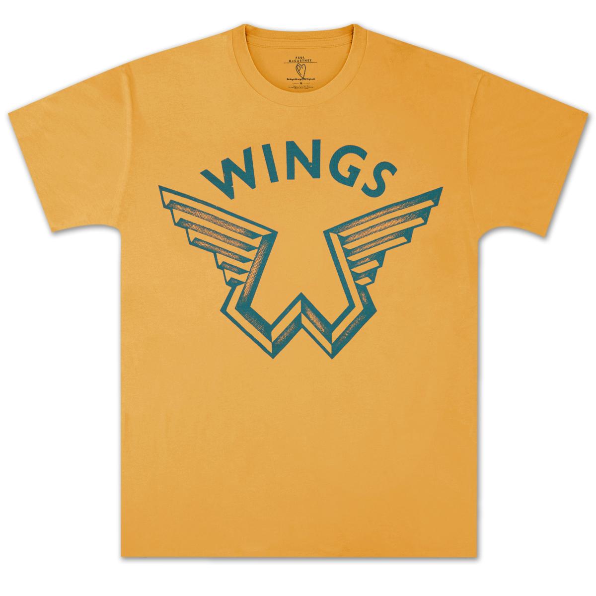 Paul McCartney Wings Logo T-Shirt