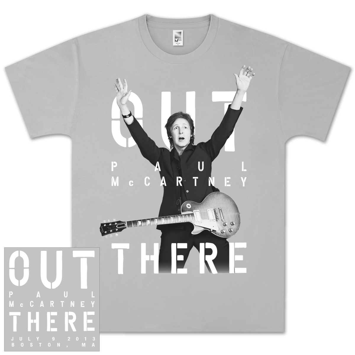 Paul McCartney Out There Boston, MA Event T-Shirt