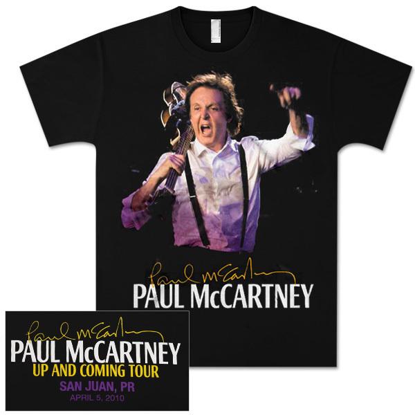Paul McCartney Up and Coming Event T-Shirt - San Juan