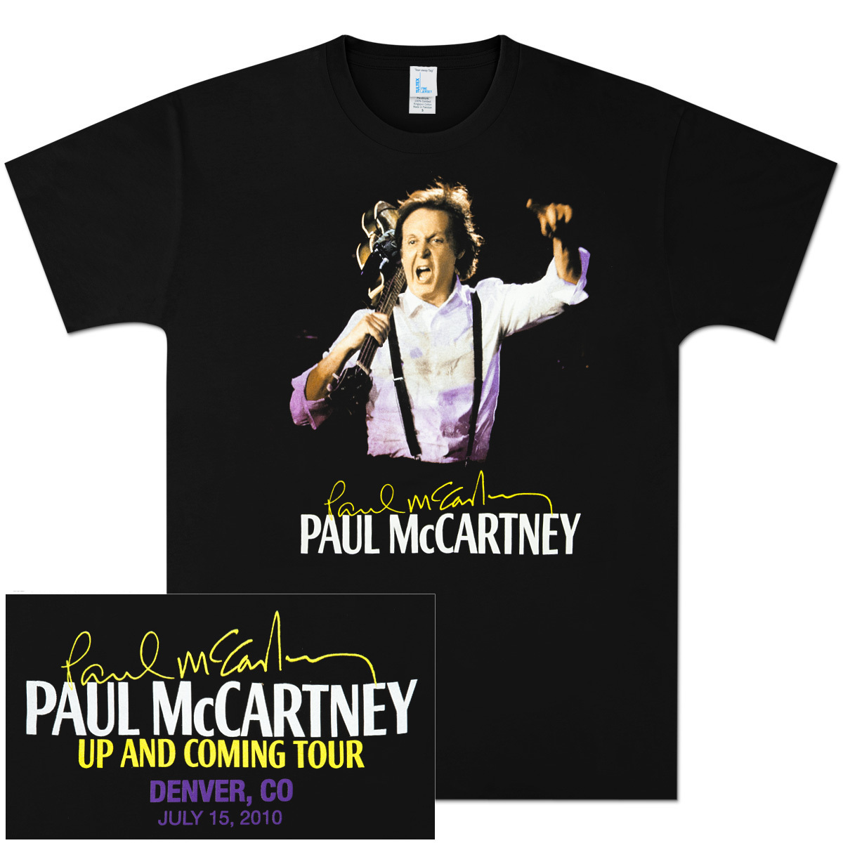 Paul McCartney Up and Coming Event T-Shirt - Denver