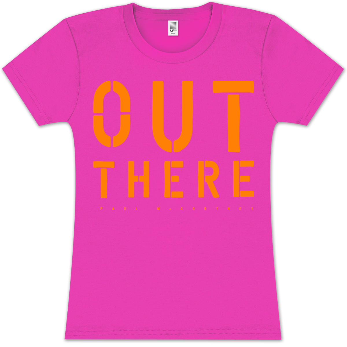 Paul McCartney Out There Colors Ladies T-Shirt