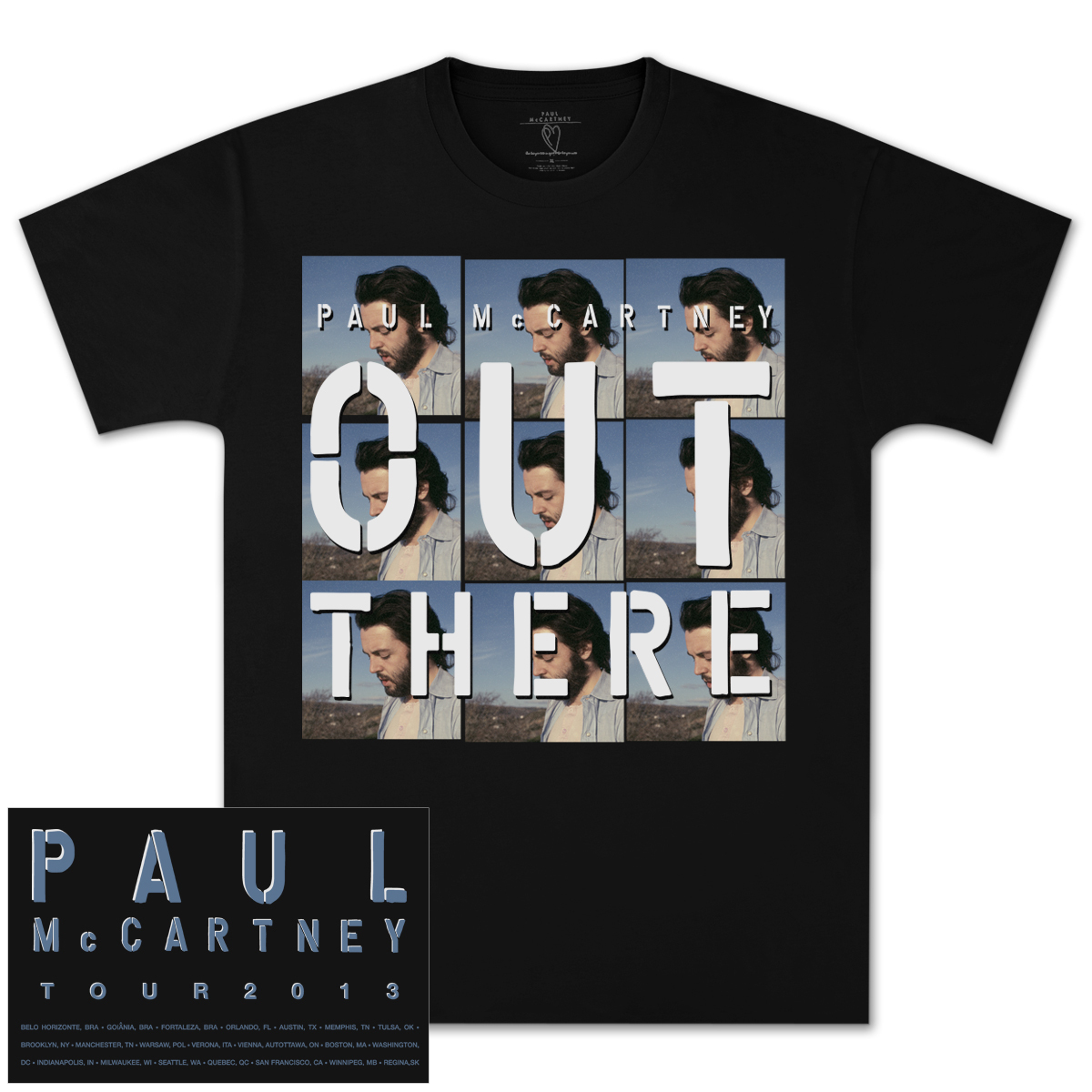 Paul McCartney Repeat 9 Tour T-Shirt