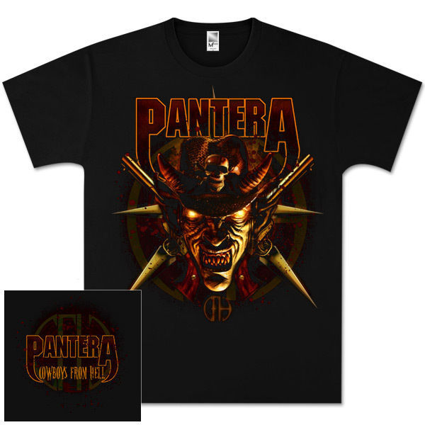 Pantera Cowboys From Hell T-Shirt