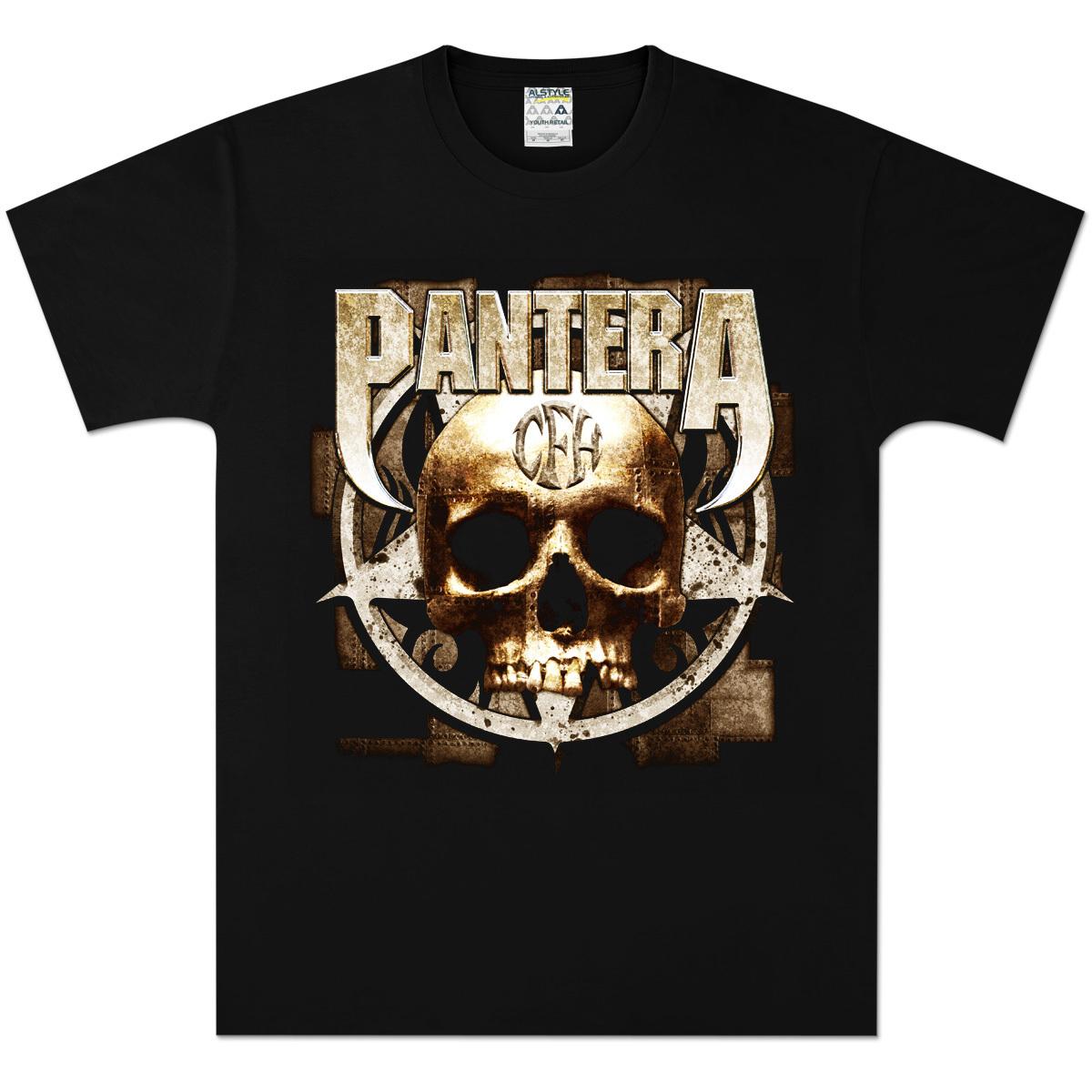 Pantera Metal Skull T-Shirt