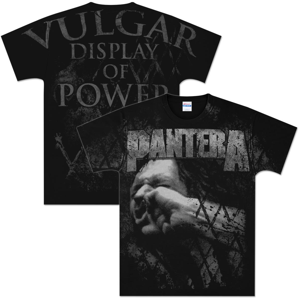 Pantera Vulgar All Over T-Shirt