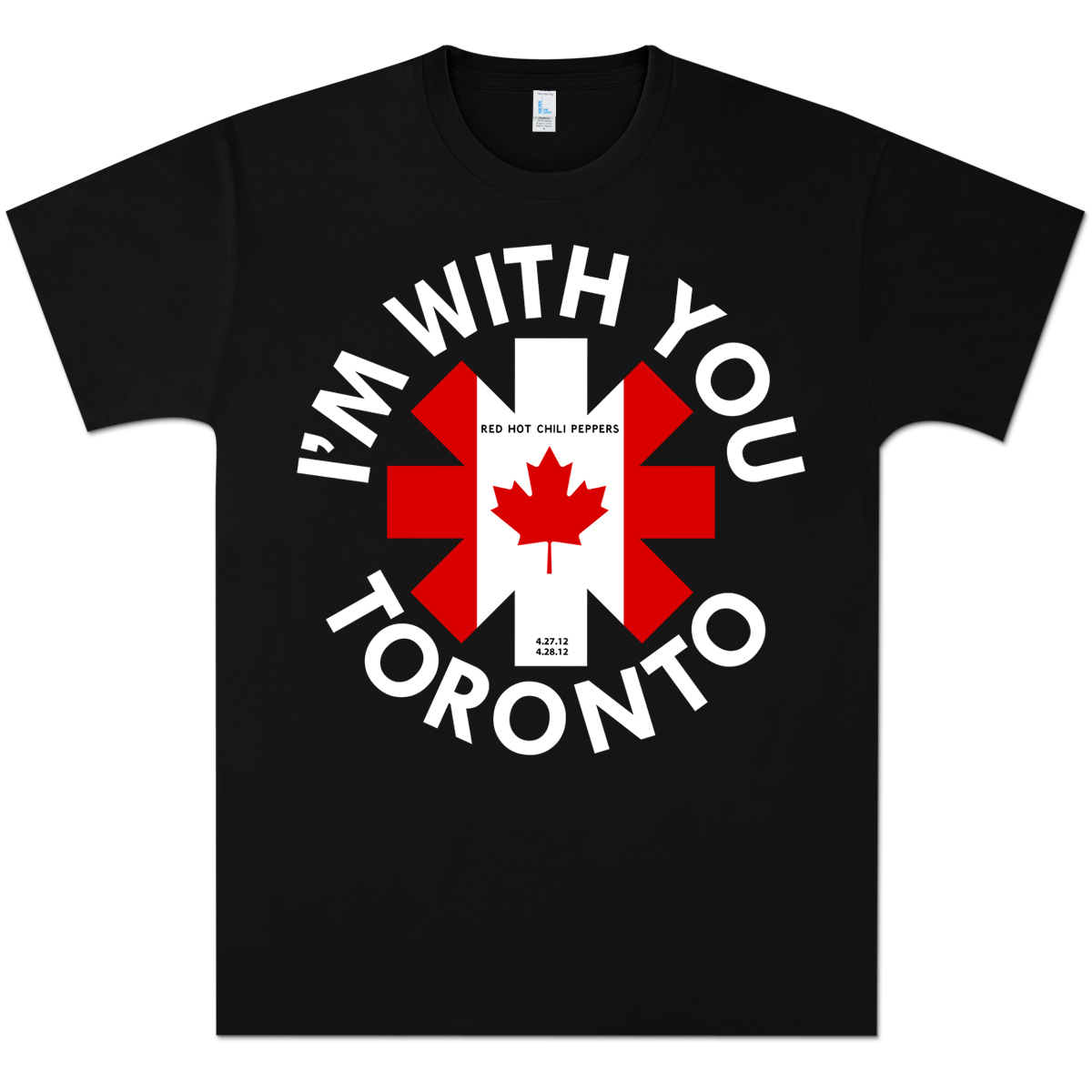Red Hot Chili Peppers Toronto Event T-Shirt