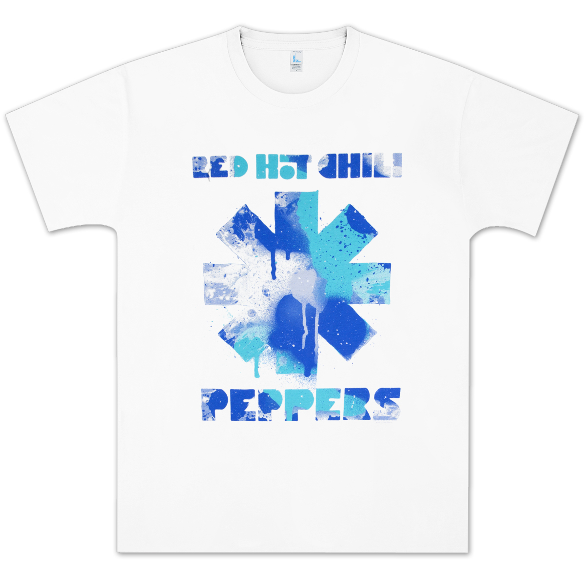 Red Hot Chili Peppers Paint T-Shirt - White