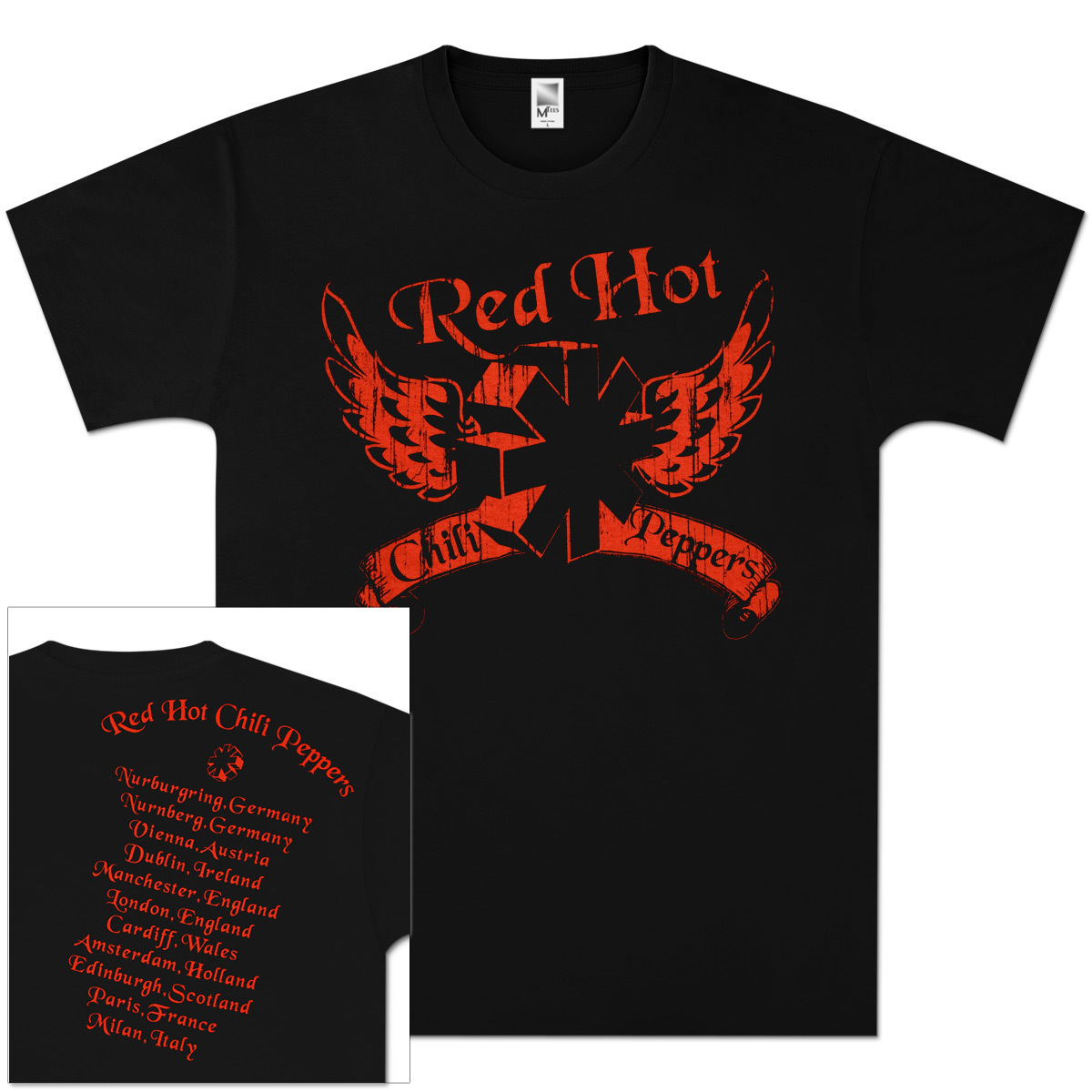 Red Hot Chili Peppers - Wing Star T-Shirt