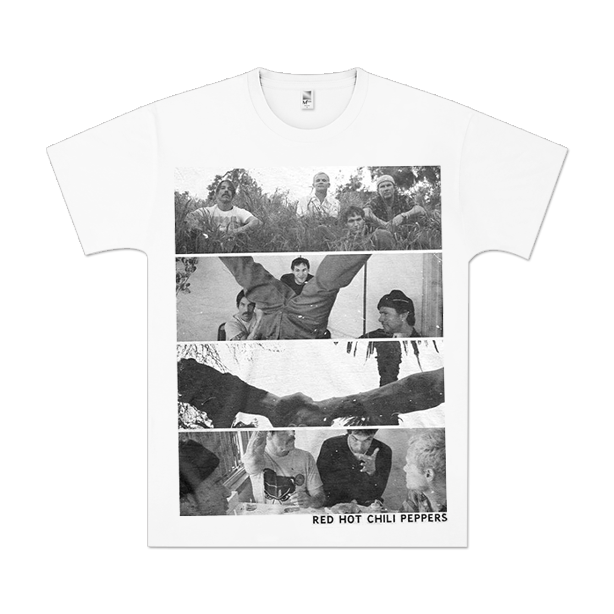 Red Hot Chili Peppers Spliced Photo T-Shirt
