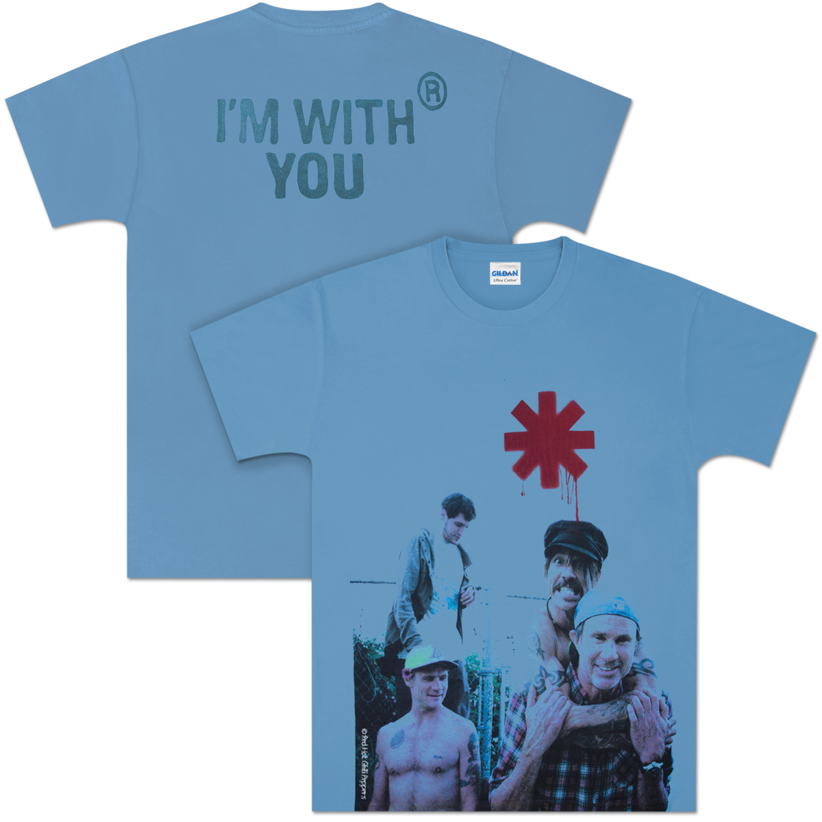 Red Hot Chili Peppers Piggyback T-Shirt