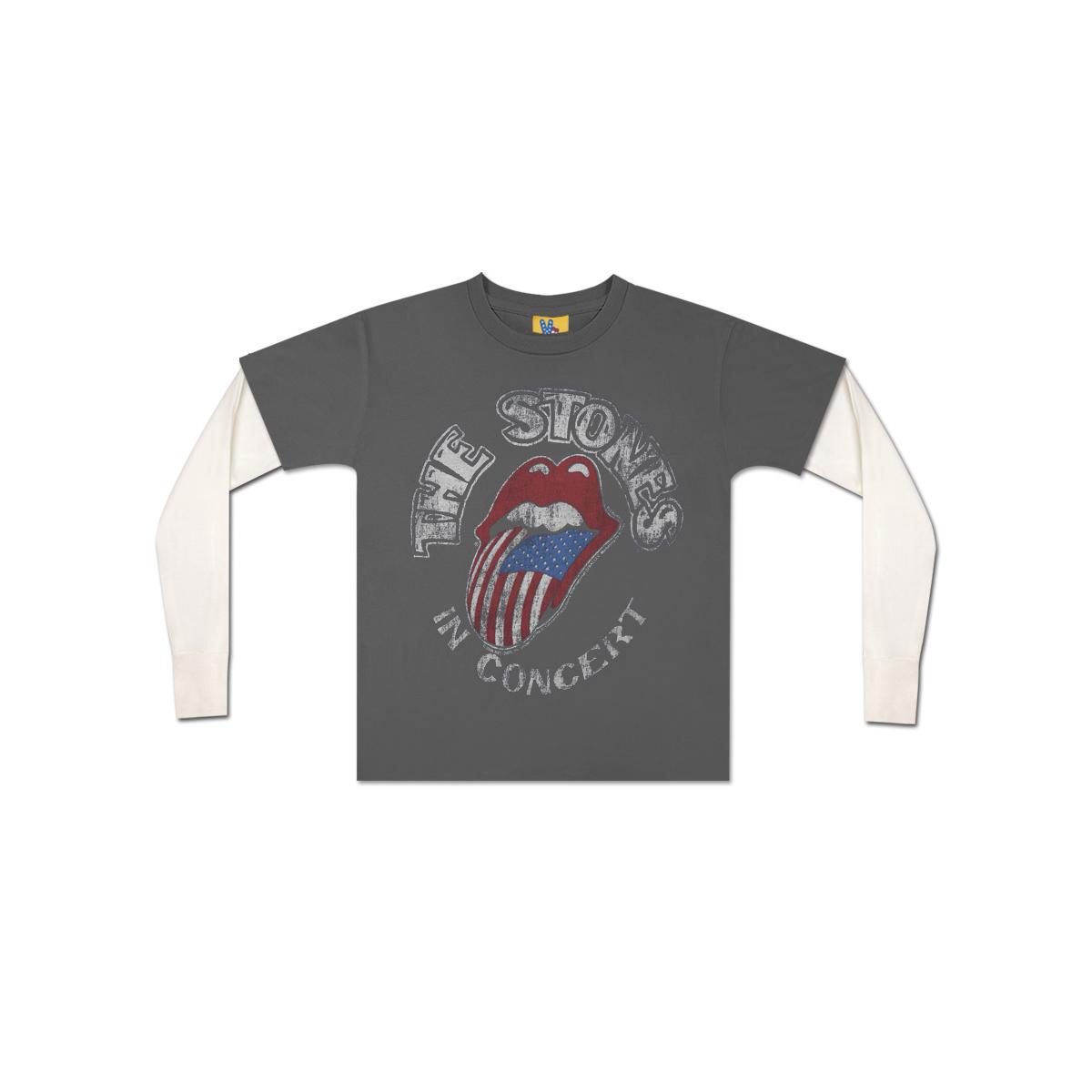 Rolling Stones In Concert Toddler Twofer T-Shirt