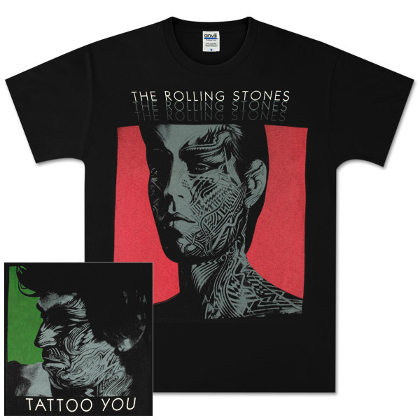 Rolling Stones Tattoo You Black T-Shirt. Item #: BGCTRS20