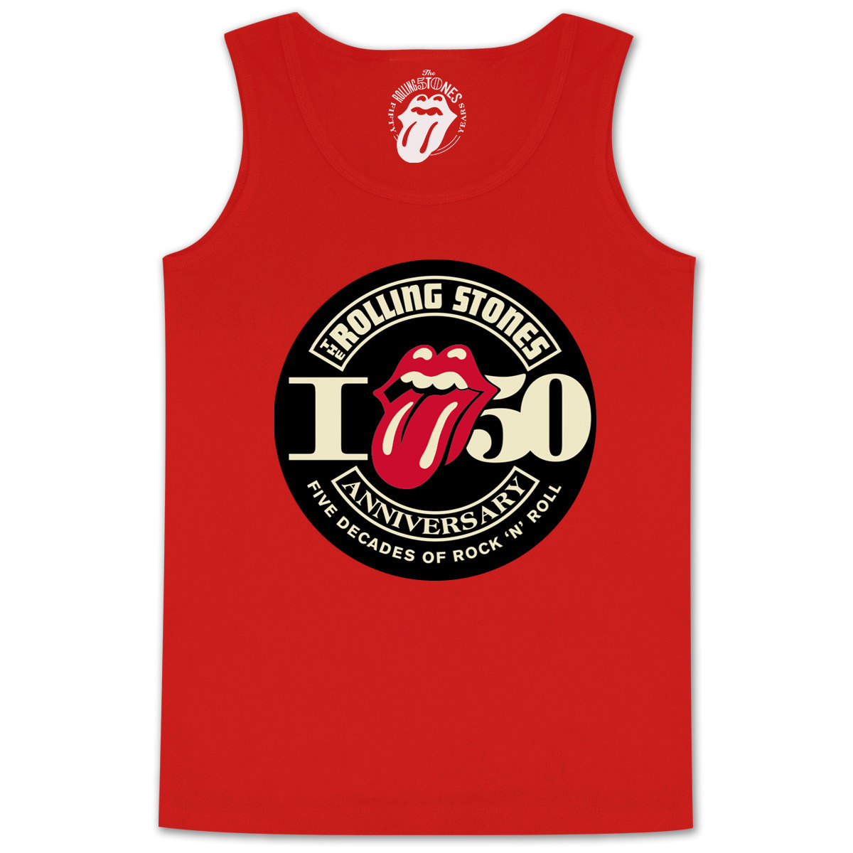 Rolling Stones 50th Seal Tank Top