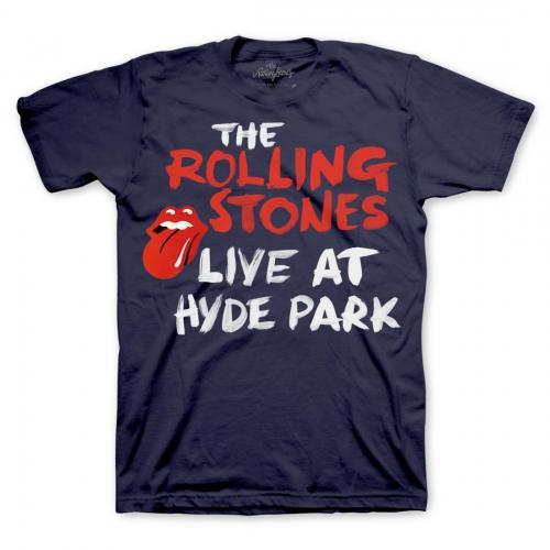 The Rolling Stones Hyde Park Script T-Shirt