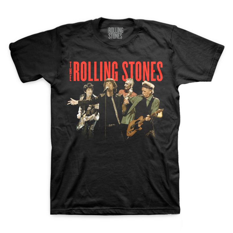 Rolling Stones Band Montage T-Shirt