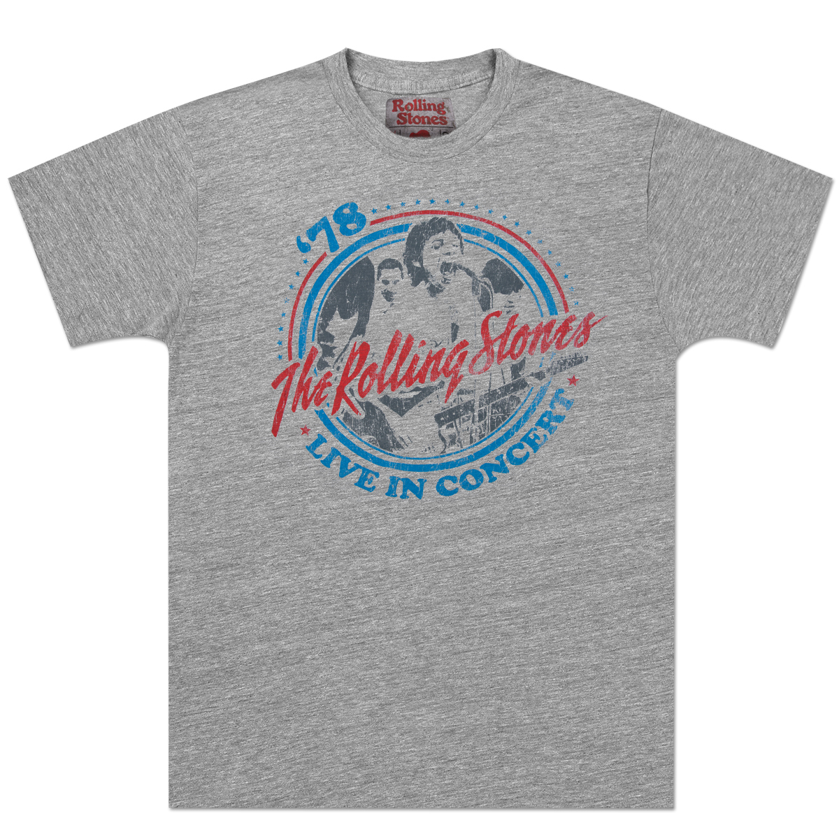 Rolling Stones '78 Live In Concert T-Shirt