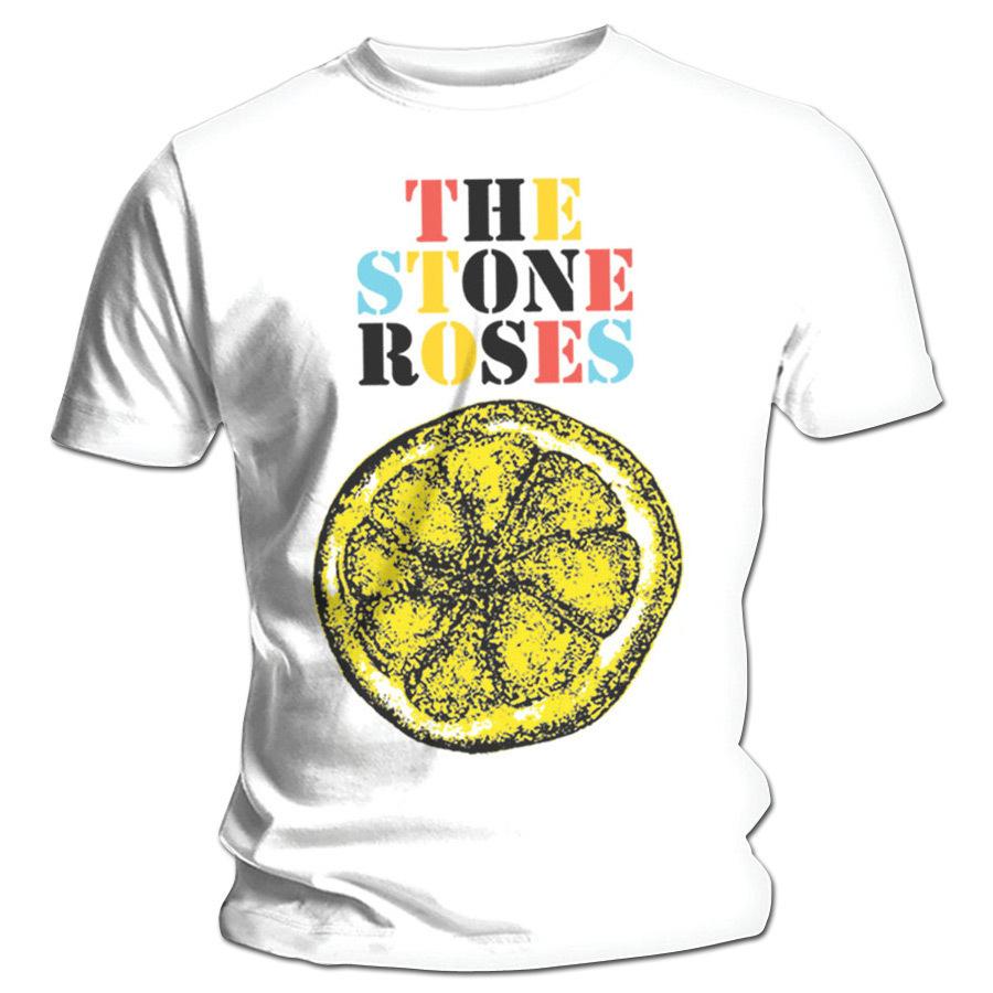 The Stone Roses Lemon Multicolour T-Shirt