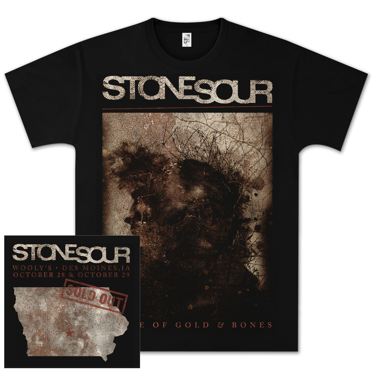 Stone Sour Horror Grunge T-Shirt