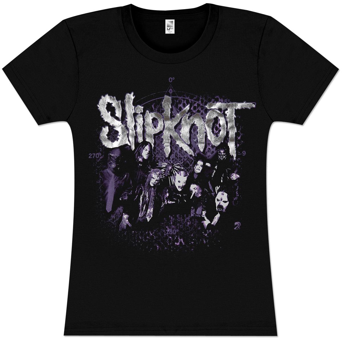 Slipknot Acid Burn Girlie T-Shirt