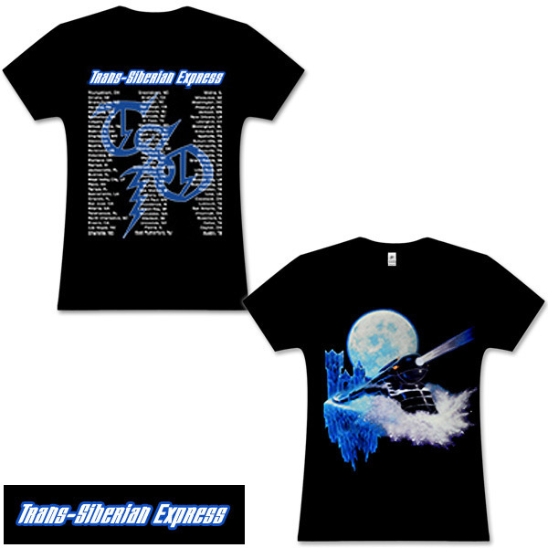 Trans-Siberian Orchestra Exclusive Women's Fitted Train T-Shirt