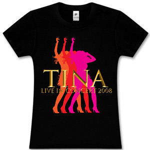 Tina Turner Multi-Tina Live Black Babydoll