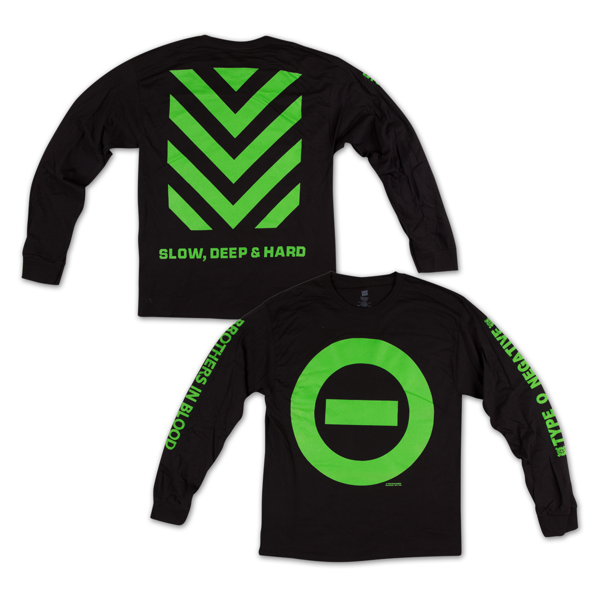 Type O Negative  Slow Deep Hard Long Sleeve Shirt