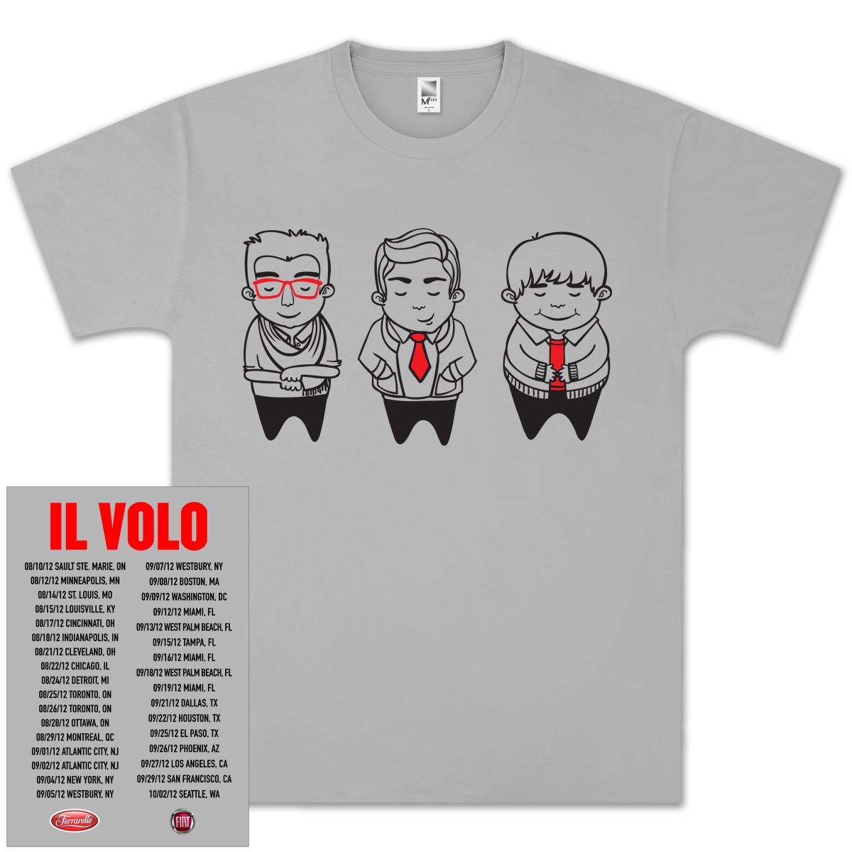 Il Volo Sketch Tour T-Shirt