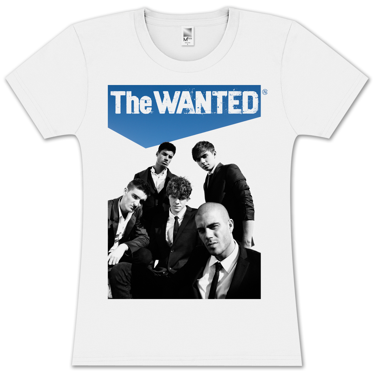 The Wanted Sky High Girlie T-Shirt