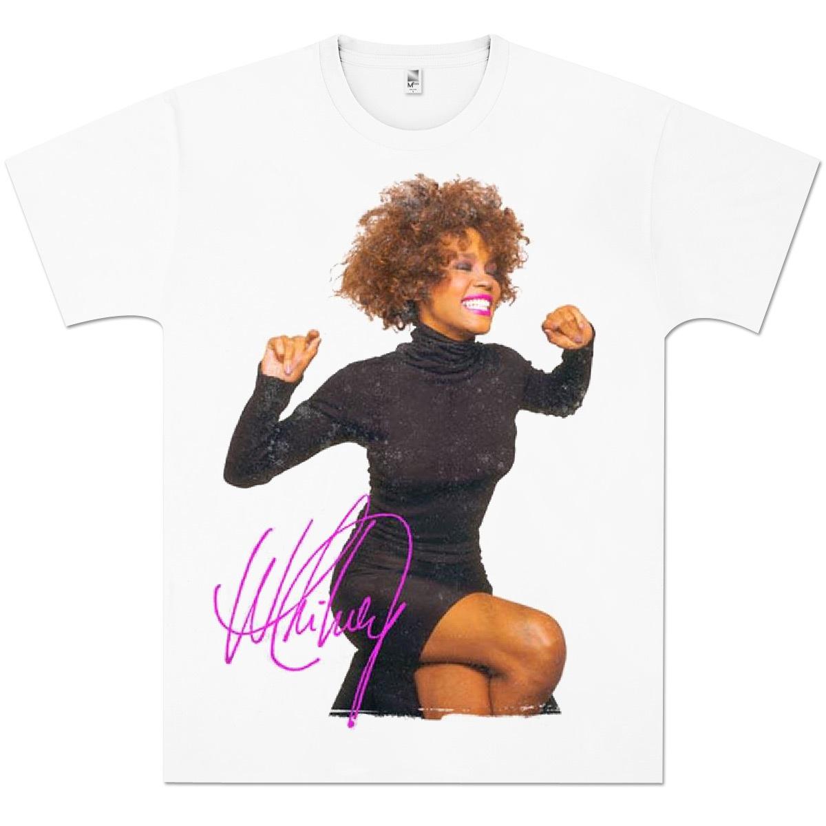 Whitney Houston Smile T-Shirt