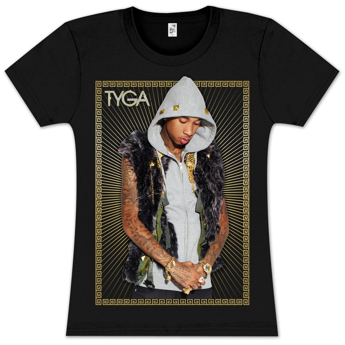 TYGA Gold JR Vest T-Shirt