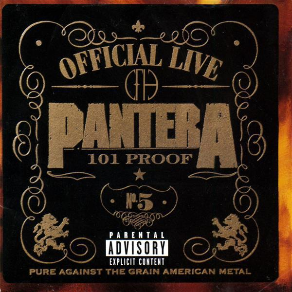 Pantera - Official Live: 101 Proof - MP3 Download