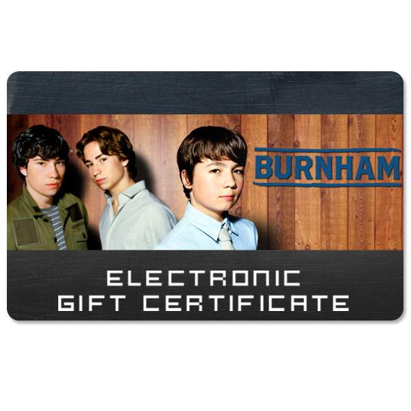 Burnham Electronic Gift Certificate