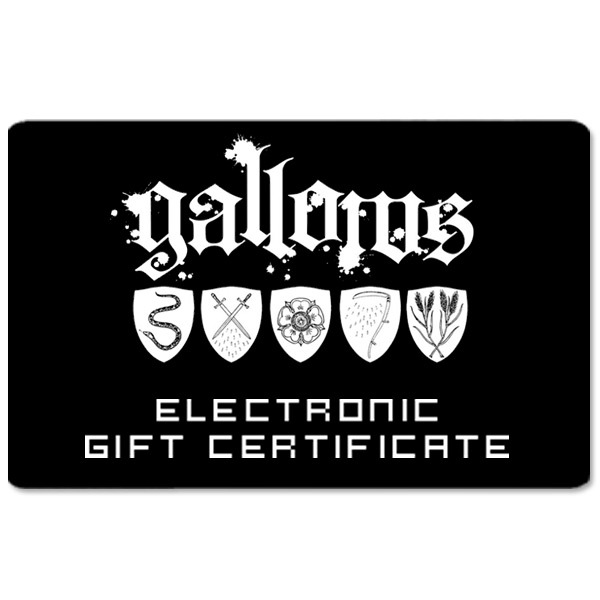 Gallows Electronic Gift Certificate